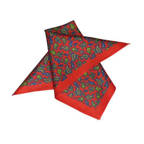 Silk pocket square online
